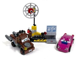 LEGO Cars Mater's Spy Zone 8424 -Holly Shiftwell & Mater Missing 3 Stick... - $16.65