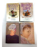 Beverly Lewis The Postcard, Crossroad Amish Fiction 4 Paperback Books Lot 8 - $13.85