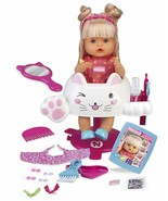 Nenuco Hairdressing Glitter Doll Baby Comb And Short El Hair For Childre... - $307.83