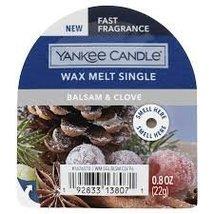Yankee Candle Balsam & Clove Wax Melts (6) Six - $18.00