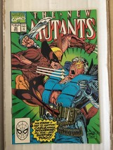 New Mutants #93 Marvel Comic Book from 1990 NM Liefeld / Todd McFarlane ... - $26.99