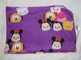 "Disney Tsum Tsum Purple Fleece Throw Blanket 50"" x 42"" - $29.69"