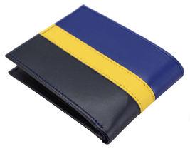 Tommy Hilfiger Men's Leather Wallet Passcase Billfold Rfid Navy Black 31TL220053 image 3