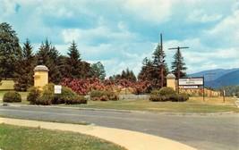 OTEEN, North Carolina NC   VETERANS~VA HOSPITAL  Entrance Sign & Roses  ... - $6.84