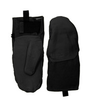 The North Face Unisex TNF Black Leather IL Solo Mitten Gloves Sz Large L... - $66.90