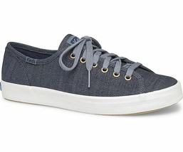 Keds Womens Kickstart Denim Twill Sneakers Blue - $35.00