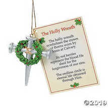 Cross of Nails Christmas Ornaments with Card - $21.99