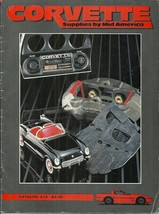 CORVETTE SUPPLIES BY MID AMERICA CATALOG 214 - 1986 - WITH ORDER FORM & ... - $2.00