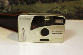 VINTAGE CAMERA - FUJI FILM- BIG VIEWFINDER DATE 60AF & CASE - EXC- W17 - $14.69
