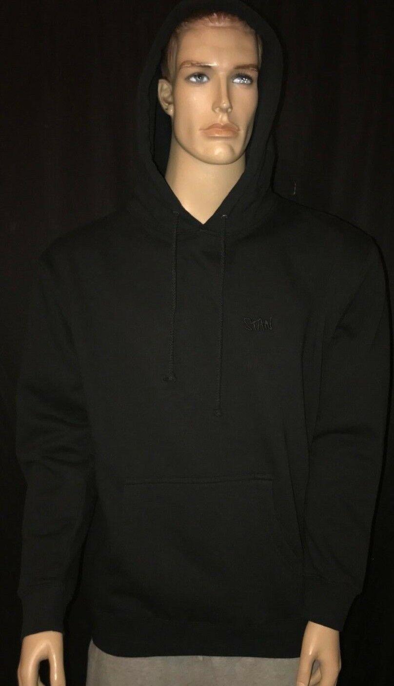 "Authentic Eminem Shady ""Stan"" Hoodie Black Size  XL"