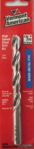"Primary image for Vermont American 10226 13/32"" High Speed Steel Drill Bit USA"