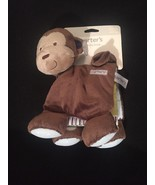 Carters Baby Toy Activity Book Brown Rock Star Monkey Plush Crinkle Squeak - $23.33
