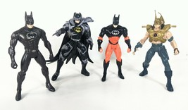 "DC Batman Heat Scan 5"" Tall Action Figure Toy 1997 & 96 Kenner Lot 4 TJ ... - $24.76"