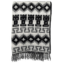 #226 Black Peruvian Wholesale Price Soft Blanket Throw Warm Brushed Alpa... - $50.18 CAD