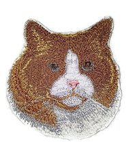 Amazing Custom Cat Portraits[Ragdoll Cat Face ] Embroidered Iron On/Sew ... - $7.91