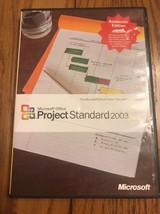 Microsoft Office Project Standard 2003 Ships N 24h - $67.30