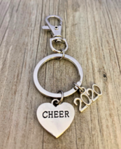 2020 Worlds Cheer All Star Zipper Pull Keychain for Cheerleaders - $9.99