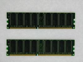 2GB 2X1GB DDR PC3200 2gb pc3200 400 LOW DENSITY DESKTOP MEMORY RAM Tested