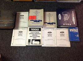 1992 OEM Ford F150 F250 F350 BRONCO SUPER DUTY Service Shop Repair Manua... - $485.09