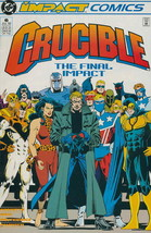 Crucible #6 VF/NM; Impact   save on shipping - details inside - $9.25