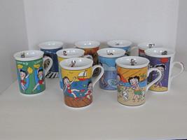 Retired Betty Boop Collectors Mugs Danburry Mint Fine Porcelain. - $79.99