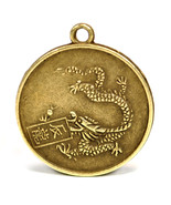 """YEAR of the DRAGON GOOD LUCK CHARM 1"""" Chinese Zodiac Horoscope Feng Shui... - $6.95"""