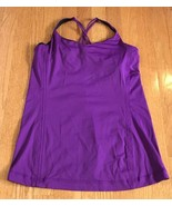 Lululemon Free To Be Tank Top Tender Violet Women's Size 10 luxtreme cir... - $24.72