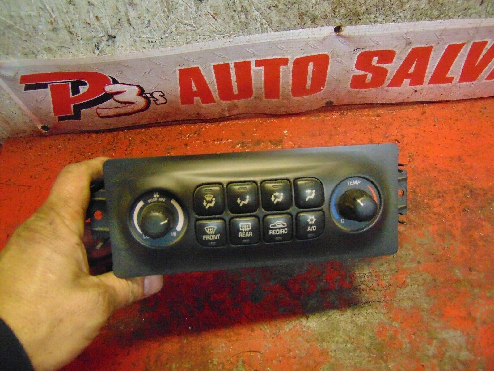 05 04 Pontiac Bonneville heater temperature climate control switch unit 10352068 - $39.59