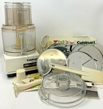 CUISINART DLC-8 Plus Food Processor w/ Accessories Manual Used TESTED WORKS - $185.25