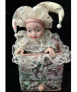 "Clown Jester Music Box plays ""Somewhere in Time"" From San Fran Music Box... - $39.00"