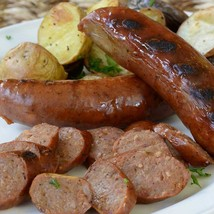 Smoked Venison Sausages with Port Wine - 12 x 12 oz pack, 4 links - $102.82