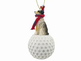 Australian Shepherd Brown w/Docked Tail golf Ornament - $17.99