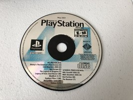 Playstation Magazine May 2001 - Playstation 1 PS1 - Cleaned & Tested - $3.88