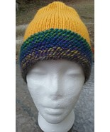 NEW Knitted Hand Made Unisex Beanie Hat - Jewel-Tone Colors - $20.00