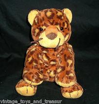 Ty Pluffies Pokey Leopard Peluche Stampa Animale Morbido 2003 Fagioli Ghepardo - $13.33