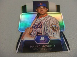 2012 Bowman Platinum 'Cutting Edge Stars' Die-Cut David Wright -New York... - $3.12