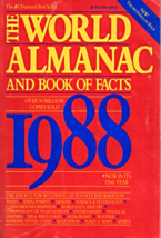 The World Almamac & Book of Facts 1988 - $2.95