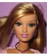 Barbie Fashion Fever Drew Lara Head Mold Blonde Pink Dress Doll OOAK or ... - $32.00