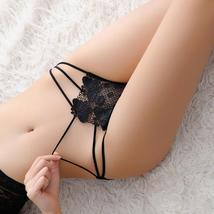 Deruilady Butterfly Embroidery Panties Hollow Out Low Rise Lace Briefs U... - $8.94
