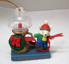 1997 Westmar A Christmas Carol Mouse Lamp Tree Ornament Older NICE!  T100 - $18.32