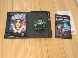 Luigi's Mansion (Nintendo GameCube, 2001) With Manual - $46.60