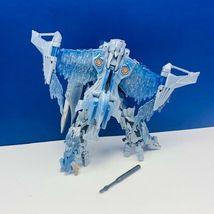 Transformers action figure robot toy Hasbro manual 2007 Megatron plane jet blue image 3