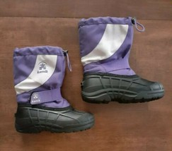 Kamik Fireball Girls Kids Snow Boots Size 13 Purple Waterproof Insulated... - $21.99