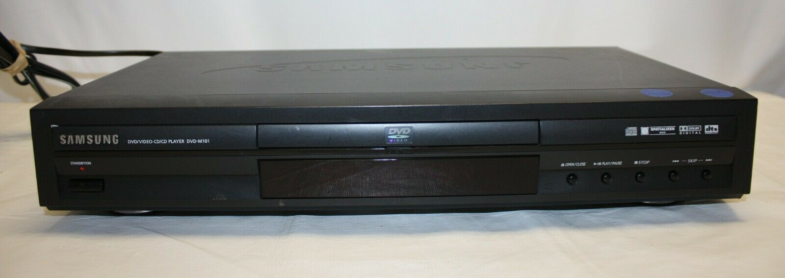Primary image for Samsung DVD/Video CD/CD-M101 DVD Player  TESTED