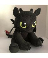 TOOTHLESS How To Train Your Dragon First Edition Red Tail Build a Bear H... - $28.15