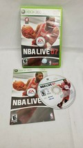 NBA Live 07 (Microsoft Xbox 360, 2006) Complete CIB w/ Manual Tested Wor... - $2.20