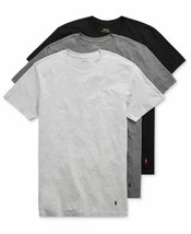 Polo Ralph Lauren 3 Pack Classic Undershirt Crew Neck T Shirt Medium Bla... - $43.51