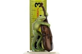 Hagen Renaker Frog Froggy Mountain Breakdown Double Bass Ceramic Figurine image 2
