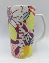 STARBUCKS COFFEE Mug Cup 2015 Engraved, Floral and Graphic Designs 16oz - $9.50