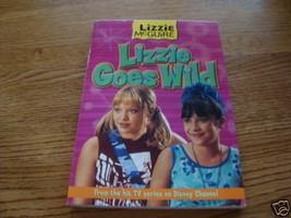 Lizzie McGuire LIZZIE Goes Wild Disney channel book - $2.95